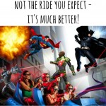 Six Flags Over Texas' Justice League: Battle for Metropolis