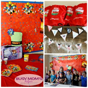 Easy Disney Kids Preschool Playdate Party