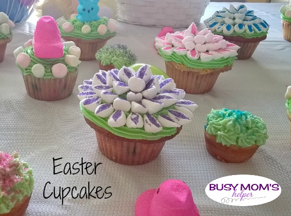 Easter Cupcakes by Nikki Christiansen for Busy Mom's Helper