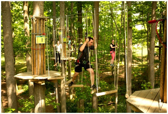 New Adventure in Dallas: Go Ape USA Rope course & Zipline Course / review by BusyMomsHelper.com #sponsored / fun things to do in Dallas / fun things to do in DFW