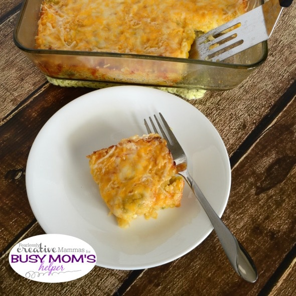 Green Chili Corn Casserole