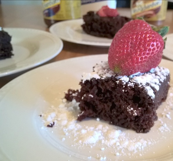 Crazy Chocolate Cake by Nikki Christianse for Busy Mom's Helper
