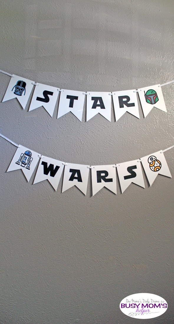 Printable Star Wars Banner