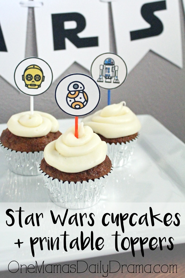 Star Wars Cupcakes @ One Mama's Daily Drama