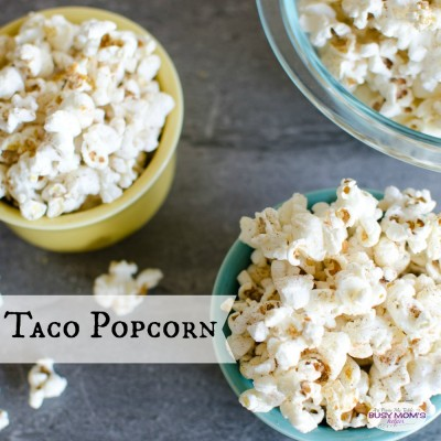 Taco Popcorn {all natural}