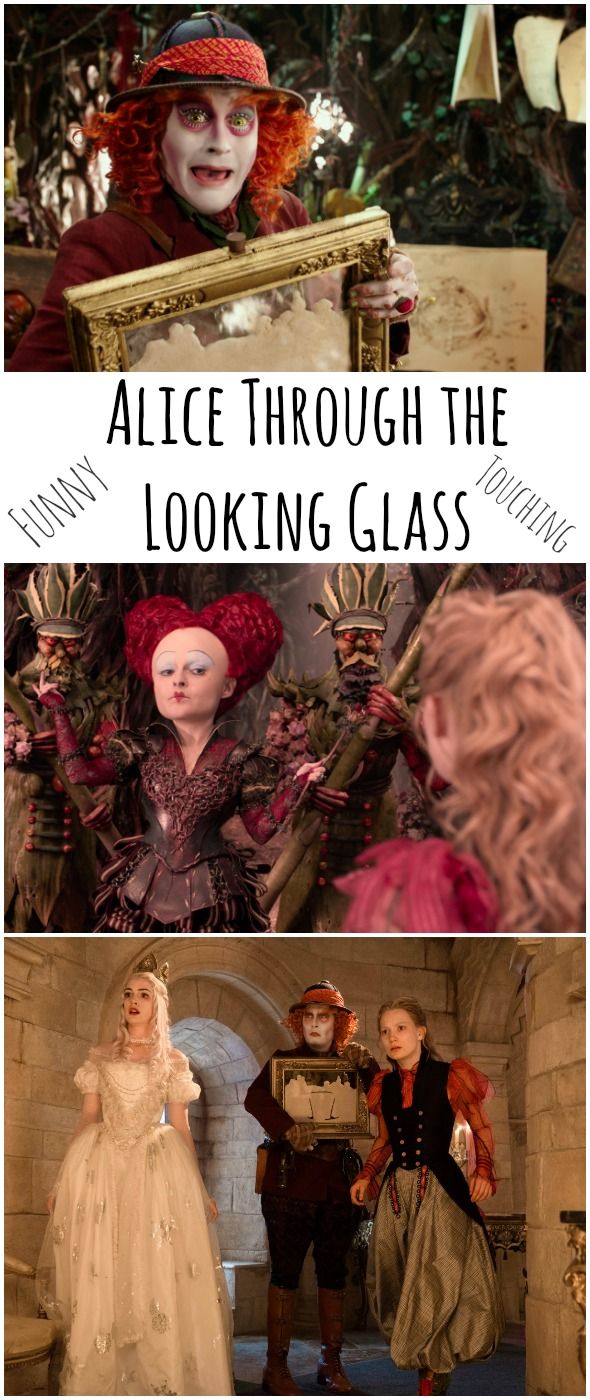 Alice Through the Looking Glass is Funny and Touching / review by BusyMomsHelper.com