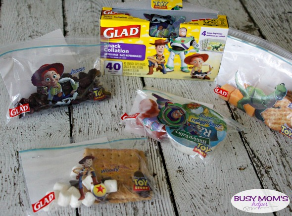 Easy Summer Snacking & Printable Snack Jokes / by BusyMomsHelper.com #ad #GladToGo