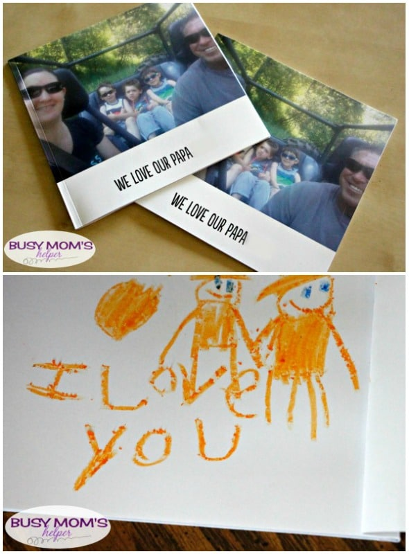 Father's Day Gift that's Perfect for Long Distance / Great Grandpa Gift Too! by BusyMomsHelper.com / A great gift for long distance #ad #SnapfishDads @newsnapfish