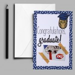 Printable Graduation Gift Card Holder