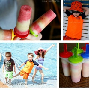 Homemade Fruit and Yogurt Popsicles