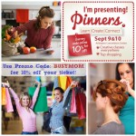 The Pinners Conference / September 9th & 10th 2016 in Arlington Texas / BusyMomsHelper.com / use promo code: BUSYMOM for 10% off your ticket! (affiliate)