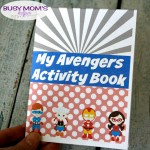 Superhero Activity Booklet