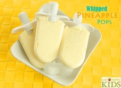 Whipped Pineapple Pops