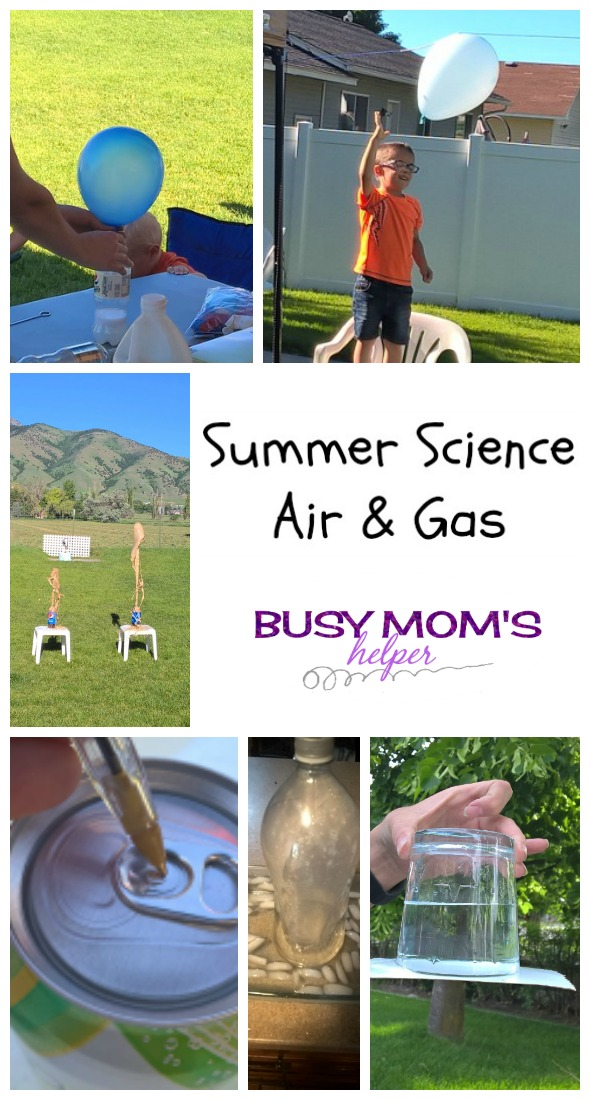 Summer Science Air & Gas by Nikki Christiansen for Busy Mom's Helper