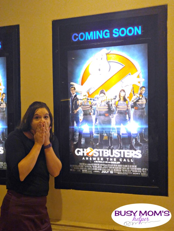 Seeing the new Ghostbusters movie! #Ghostbusters #Ghostbloggers #ad