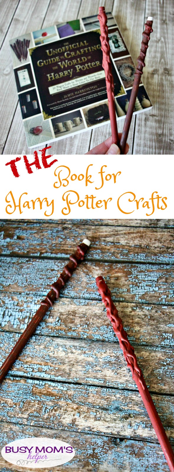 Harry potter archives busy moms helper the book for harry potter crafts the perfect gift for any harry potter fan solutioingenieria Images