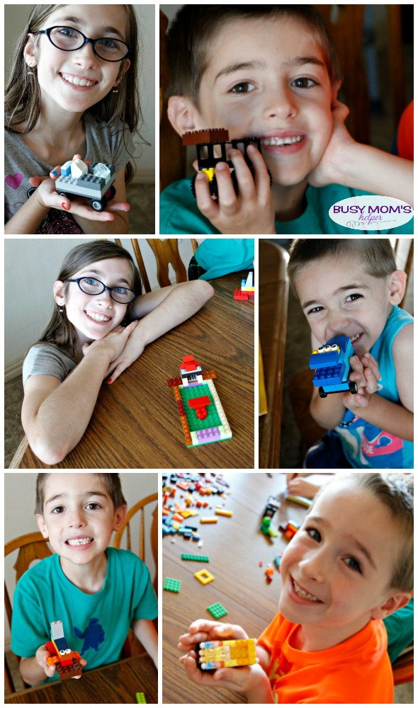 Raising Creative Kids Starts with LEGO / by BusyMomsHelper.com #KeepBuilding #sponsored
