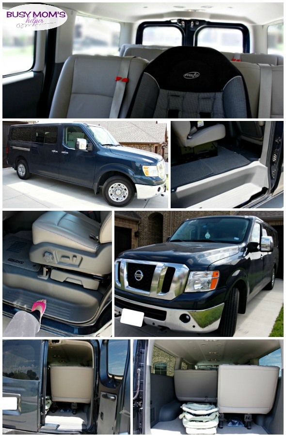 Our Top 12-Passenger Van Pick: Nissan NV Passenger 3500 (not a sponsored post, it's just our review of our own vehicle)