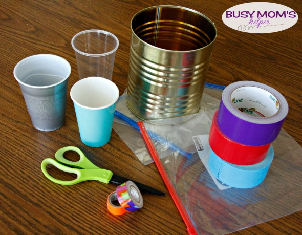 Super Easy Scout Drum - A Fast and Simple Scouts Craft / by BusyMomsHelper.com