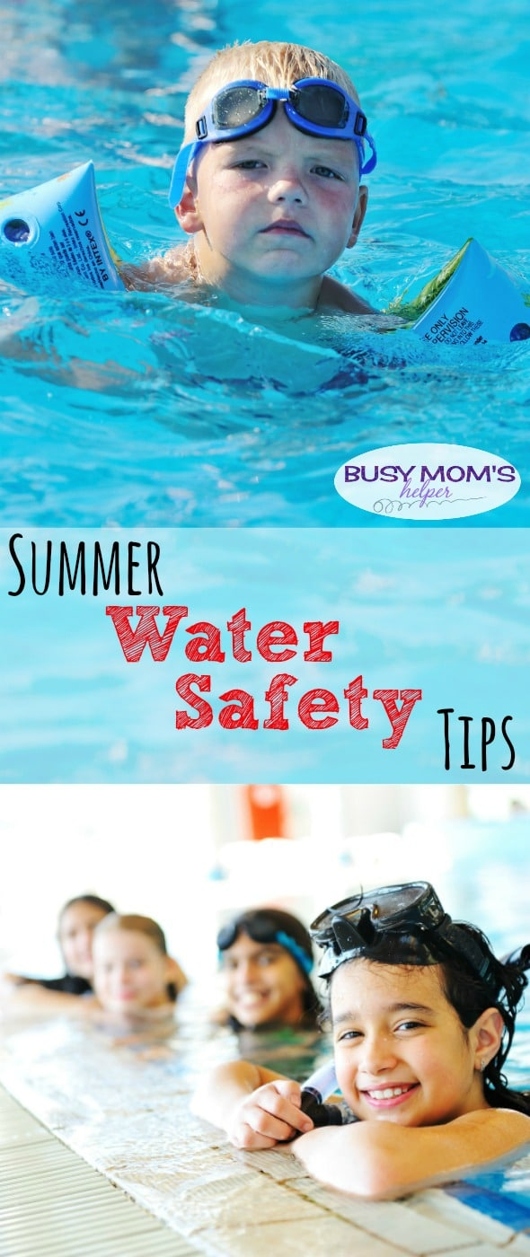 Tips for water safety during the summer #MakeSafeHappen #WaterSafety #ad