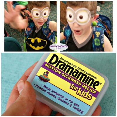 Motion Sickness with a Kid Who Can't Swallow Pills #AdventuresInMotion #IC #ad