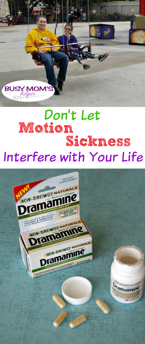 Don't Let Motion Sickness Interfere with Your Life / How to prevent & treat Motion Sickness #AdventuresInMotion #IC #ad