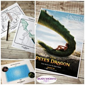Pete's Dragon Activity Pages