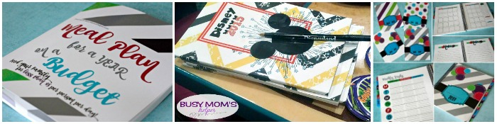 Busy Mom's Helper Store / 2017 Planners / Disney Activity & Autograph Books / 52 Weeks of Meal Plans WITH Recipes #ad