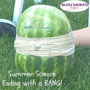 Summer Science Ending with a BANG!