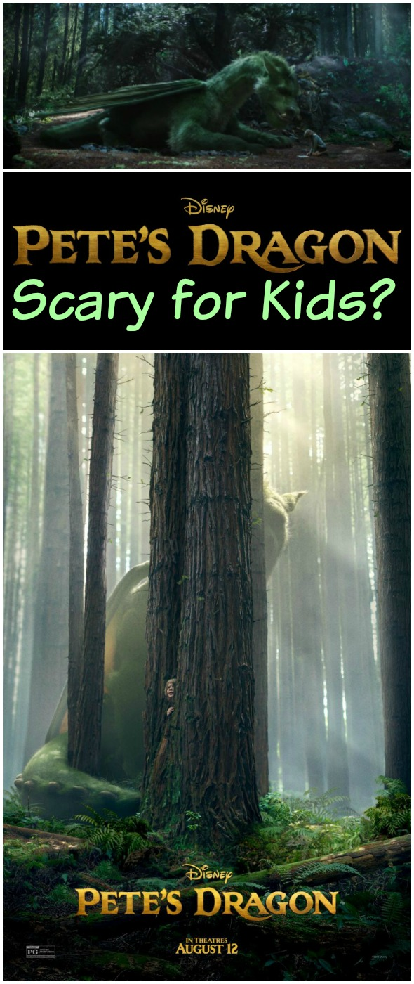 Is Pete's Dragon Scary for Kids? Nope, it's purely magical!