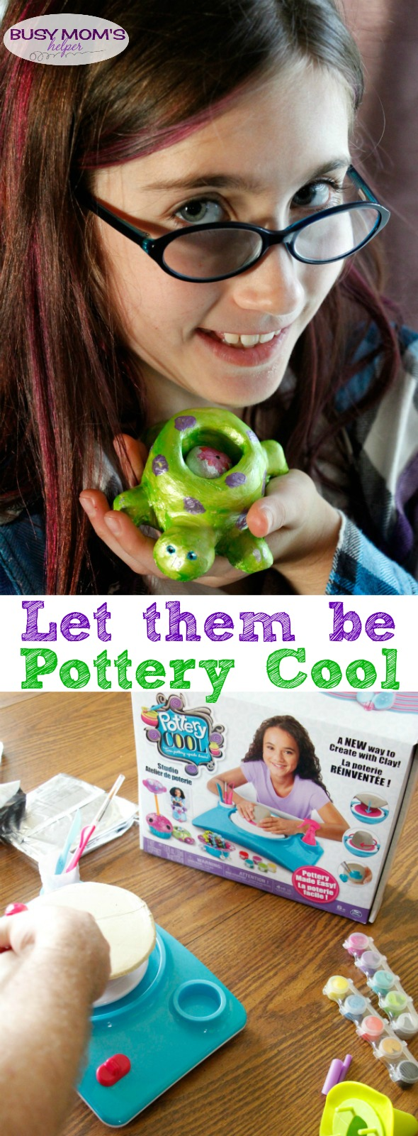 Let them be Pottery Cool / Raising Artistic Kids/ Great Gifts for Artistic Tweens #ad #PotteryCool @spin_master