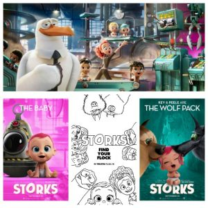 Find Your Family with STORKS, Plus Activity Pages!