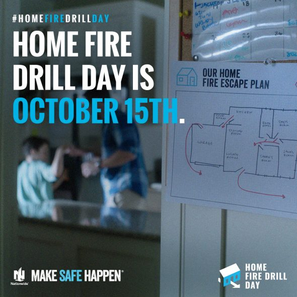 Is Your Family Prepared in Case of a Home Fire? #HomeFireDrillDay #MakeSafeHappen #IC #ad