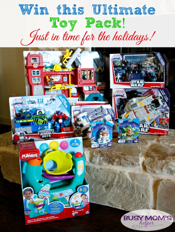 Ultimate Toy Pack Giveaway / Win plenty of toys for Christmas! Star Wars, Transformers and more! #sponsored