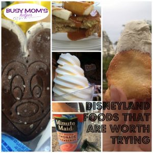 Disneyland Foods that are Worth Trying