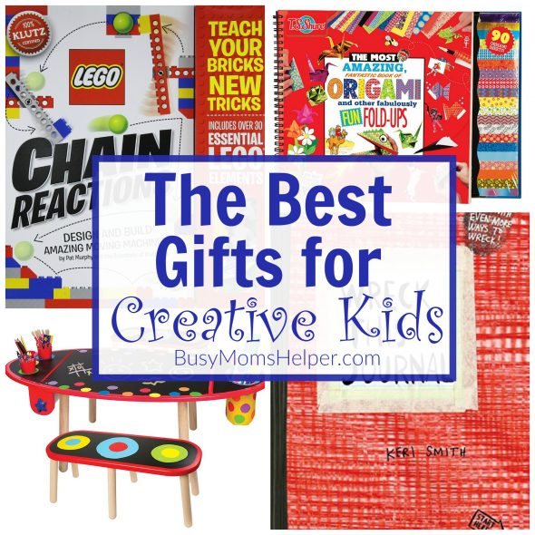 Gift Guide: Creative Kid Gifts (affiliate) You'll love these gifts for creative kids!