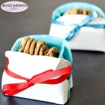 DIY Holiday Cookie Basket