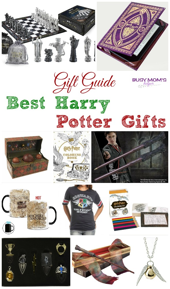 Gift Guide: Best Harry Potter Gifts (affiliate)