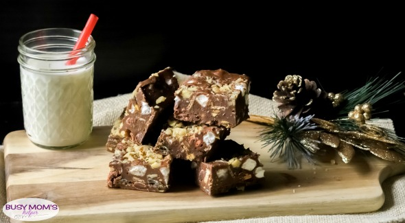 Rocky Road Crunch Bars with Leftover Candy