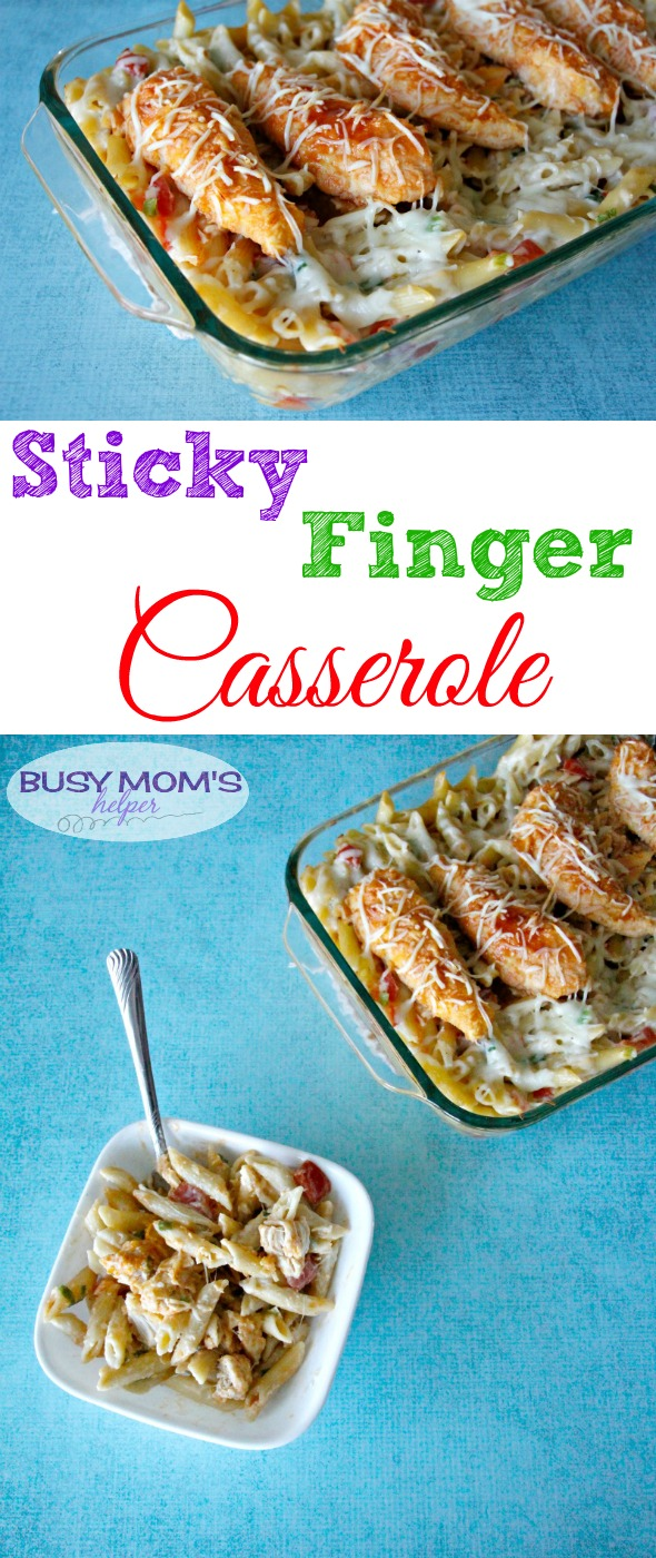 Sticky Finger Casserole / A delicious & easy recipe for the whole family!