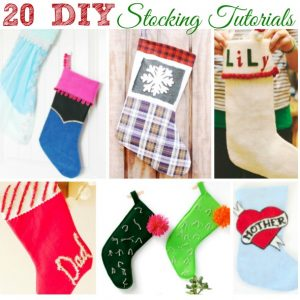 20 DIY Stocking Tutorials
