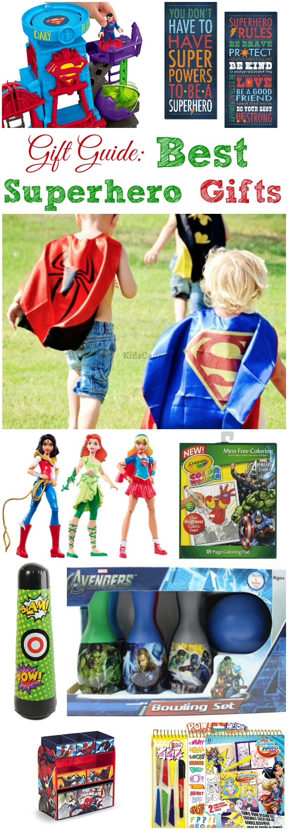 Gift Guide: Best Superhero Gifts (affiliate)