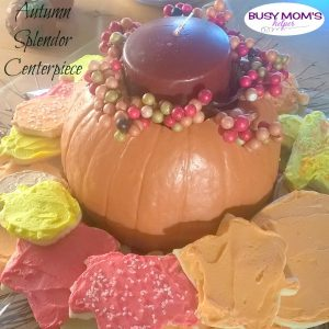 Autumn Splendor Centerpiece plus Cookie Recipe