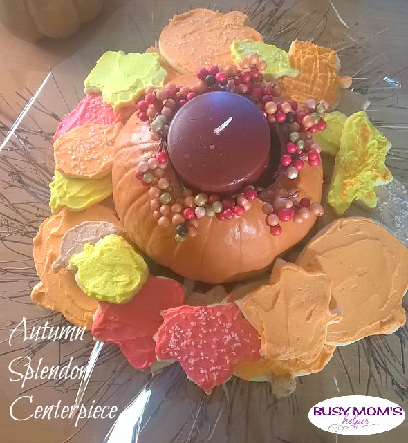 Autumn Splendor Centerpiece by Nikki Christiansen for Busy Mom's Helper