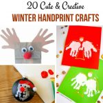 20 Winter Handprint Crafts