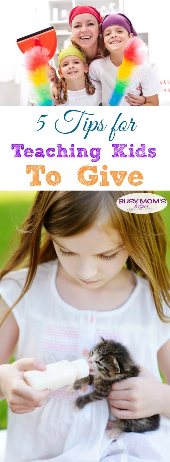 5 Tips for Teaching Kids to Give #JNJ #IC #ad