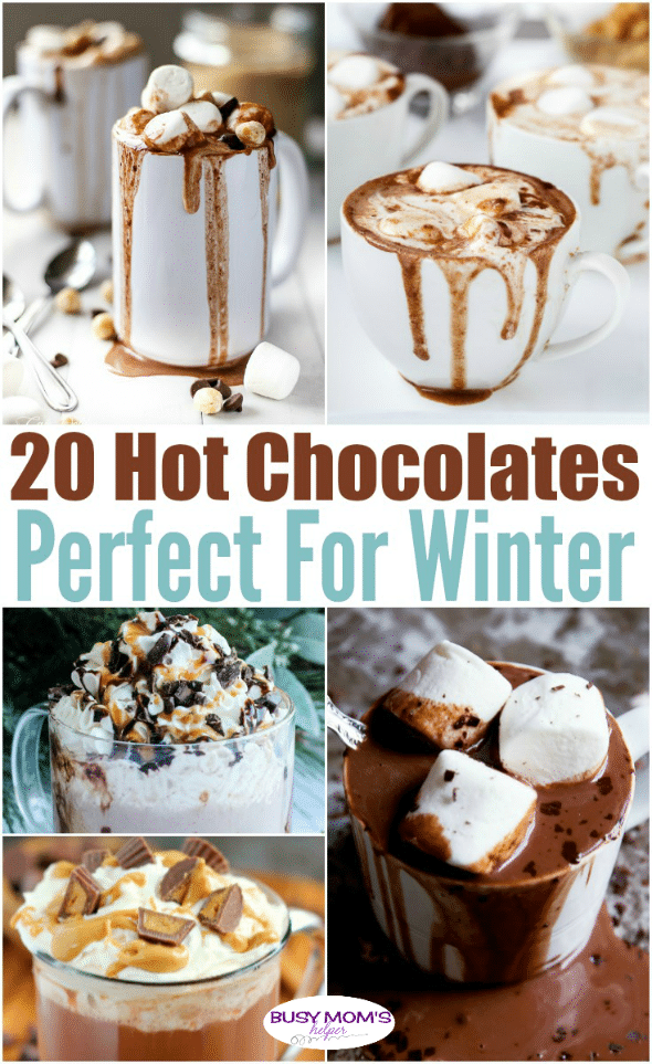 20 Hot Chocolate Recipes Perfect for Winter