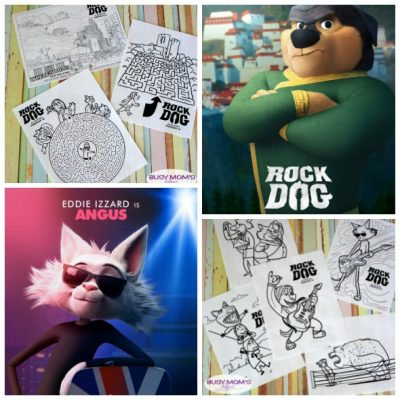 Free Printable Rock Dog Coloring & Activity Pages - get ready for this rockin' new movie!
