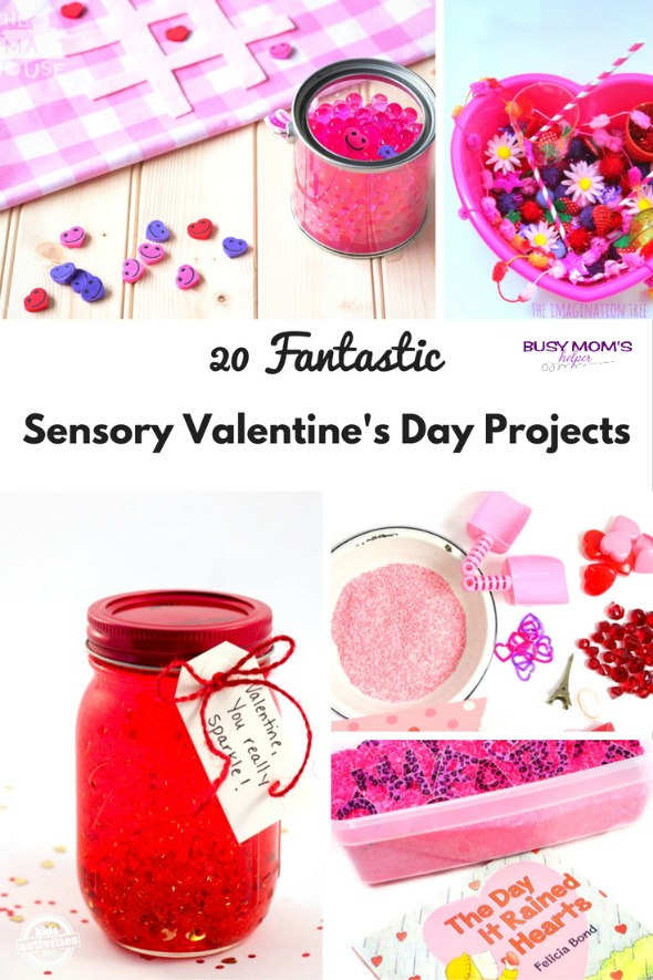 20 Fantastic Sensory Valentine's Day Projects