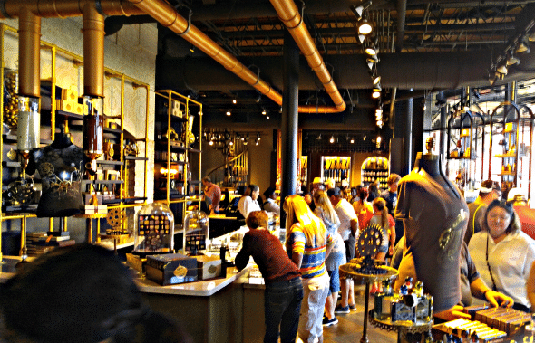 Toothsome Chocolate Emporium Store - so many fun things at Universal Orlando's Toothsome Store!